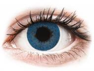 Plave kontaktne leće - dioptrijske - FreshLook Dimensions Pacific Blue - dioptrijske (6 kom leća)