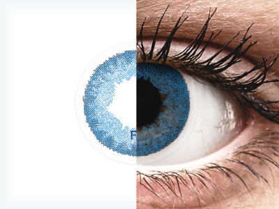 FreshLook Dimensions Pacific Blue - dioptrijske (6 kom leća)