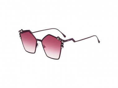 Oversize sunčane naočale - Fendi FF 0261/S 0T7/3X