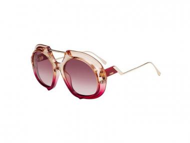 Oval / Elipse sunčane naočale - Fendi FF 0316/S C48/3X