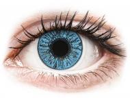 Plave kontaktne leće - bez dioptrije - FreshLook Colors Sapphire Blue - nedioptrijske (2 kom leća)