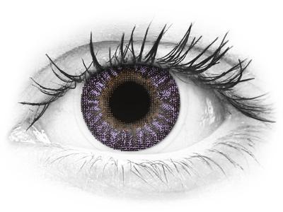 TopVue Color - Violet - nedioptrijske (2 kom leća)