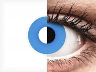 ColourVUE Crazy - Sky Blue - jednodnevne leće bez dioptrije (2 kom leća)