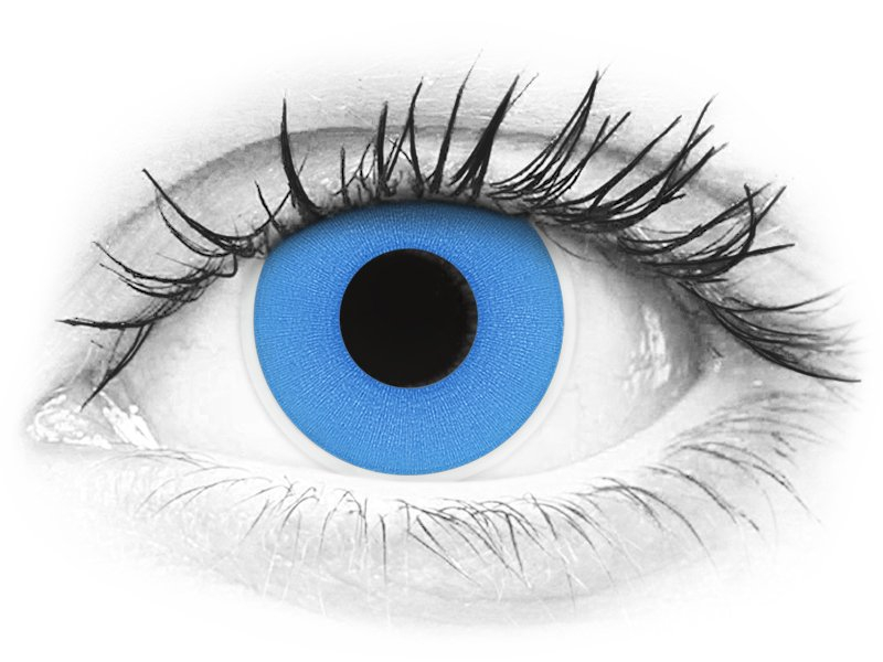 ColourVUE Crazy - Sky Blue - jednodnevne leće bez dioptrije (2 kom leća) - ColourVUE Crazy - Sky Blue - jednodnevne leće bez dioptrije (2 kom leća)