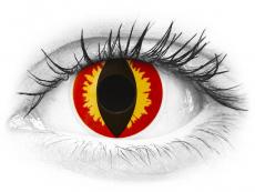 ColourVUE Crazy - Dragon Eyes - jednodnevne leće bez dioptrije (2 kom leća)