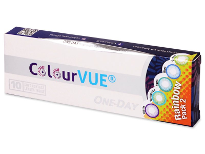 ColourVue One Day TruBlends Rainbow 2 - nedioptrijske (10 kom leća)