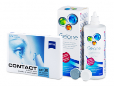 Contact Day 30 Air (6 kom leća) + Gelone 360 ml
