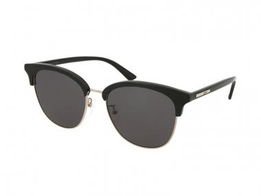Browline sunčane naočale - Alexander McQueen MQ0103SK 001