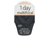 Proclear 1 Day multifocal (30komleća) - Pregled blister pakiranja