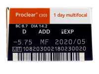 Proclear 1 Day multifocal (30komleća)