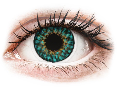 Air Optix Colors - Turquoise - bez dioptrije (2 kom leća)