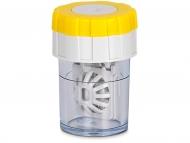 Posudice za kontaktne leće - Rotirajuća kutijica - žuta