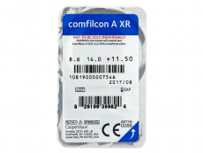 Biofinity XR (3kom leća) - Pregled blister pakiranja
