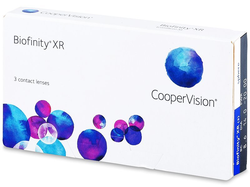 Mjesečne kontaktne leće - Biofinity XR (3kom leća)