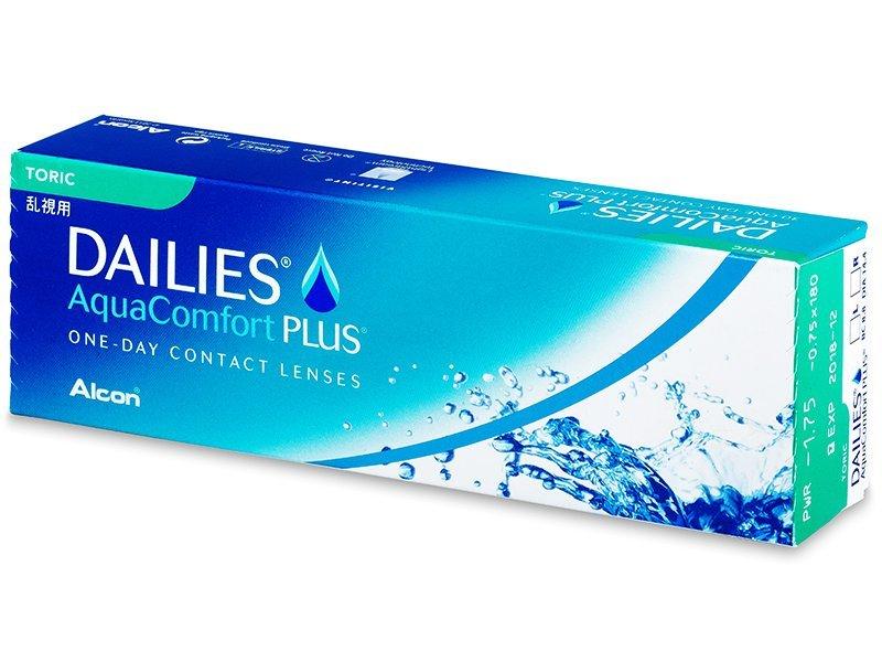 Dailies AquaComfort Plus Toric (30komleća) - Torične kontaktne leće