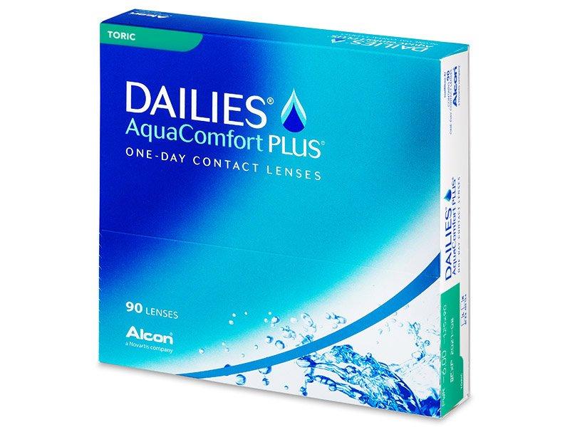 Dailies AquaComfort Plus Toric (90komleća) - Torične kontaktne leće
