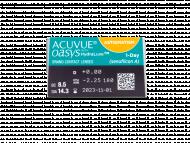 Acuvue Oasys 1-Day with HydraLuxe for Astigmatism (30 leća) - Pregled parametara leća