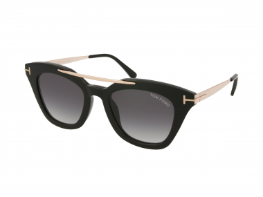 Tom Ford sunčane naočale - Tom Ford Anna-02 FT575 01B