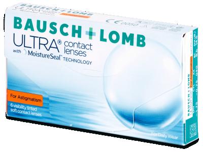 Torične kontaktne leće - Bausch + Lomb ULTRA for Astigmatism (6 kom leća)