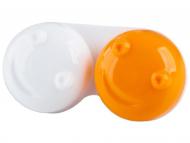 Posudice za kontaktne leće - Kutija 3D - orange