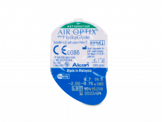 Air Optix plus HydraGlyde for Astigmatism (6 kom leća)