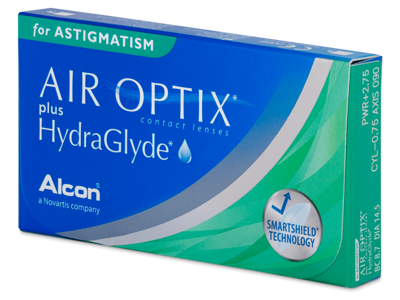 Air Optix plus HydraGlyde for Astigmatism (3 kom leća)