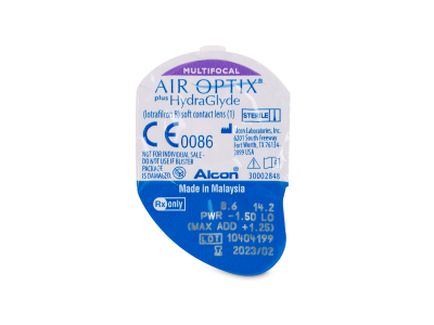 Air Optix plus HydraGlyde Multifocal (6 kom leća)