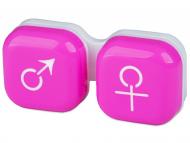 Kutije kontaktne leće - Kutija man&woman - pink