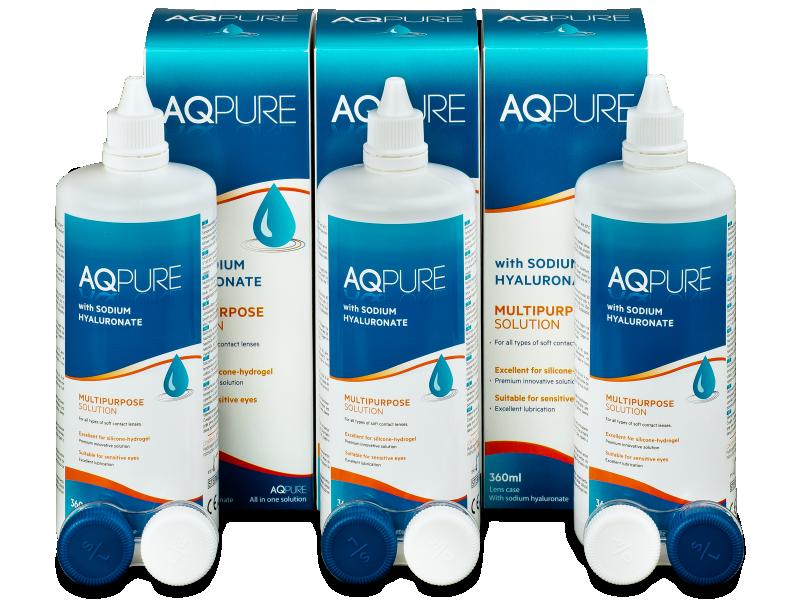 Otopina AQ Pure 3 x 360ml  - Ekonomično troduplo pakiranje otopine