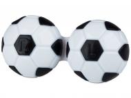 Posudice za kontaktne leće - Kutija Football - black