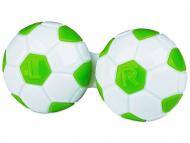 Posudice za kontaktne leće - Kutija Football - green