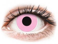 ColourVUE Crazy Lens - Barbie Pink - bez dioptrije (2 kom leća)
