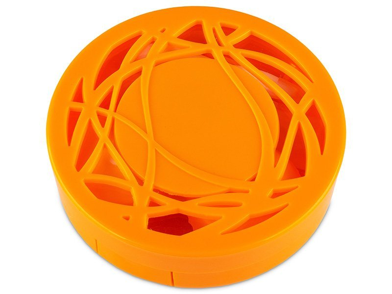 Kutija s ogledalom – ornamentno narančasta  - Kutija s ogledalom – ornamentno narančasta