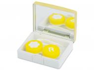 Kutije za leće s ogledalom - Kutija s ogledalom Elegant  - gold