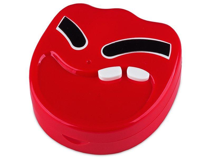 Kutija s ogledalom Smile - red  - Kutija s ogledalom Smile - red