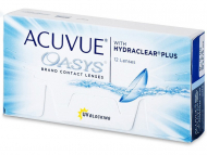 Kontaktne leće Johnson and Johnson - Acuvue Oasys (12 kom leća)