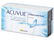 Kontaktne leće Johnson and Johnson - Acuvue Oasys (24 kom leća)