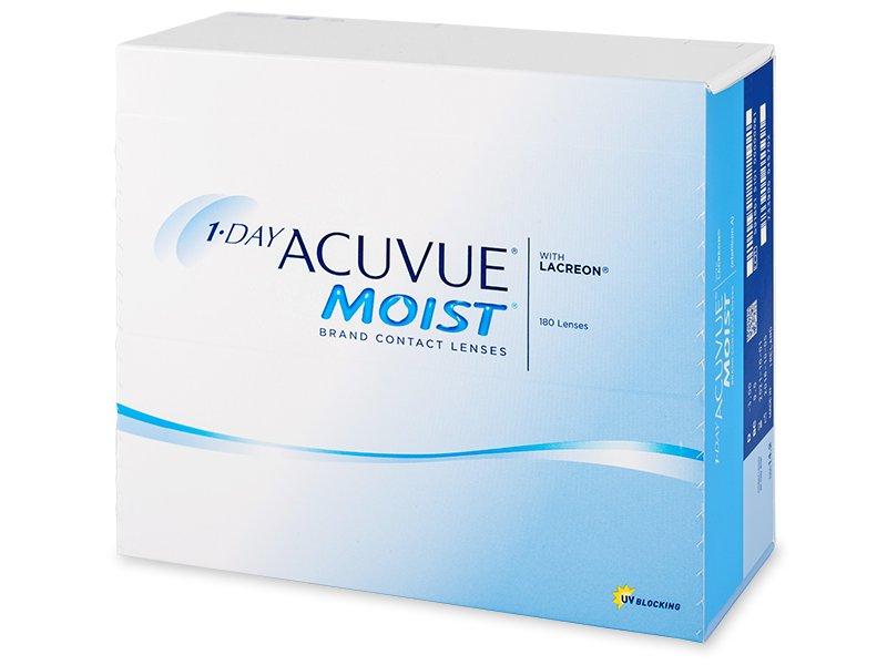 1 Day Acuvue Moist (180leća) - Jednodnevne kontaktne leće
