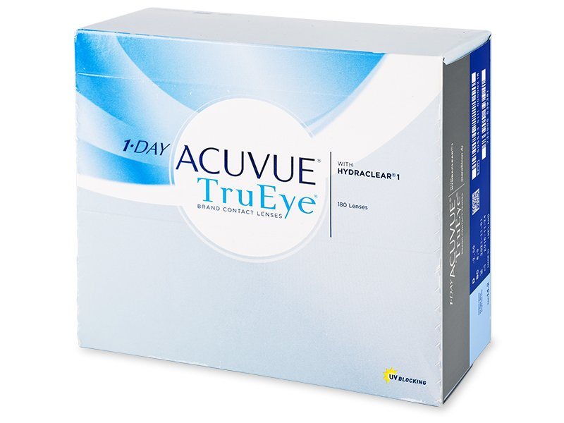 Jednodnevne kontaktne leće - 1 Day Acuvue TruEye (180komleća)