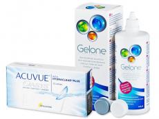 Acuvue Oasys (12 kom leća) + Gelone 360 ml
