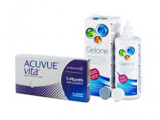 Acuvue Vita (6 kom leća) + Gelone 360 ml