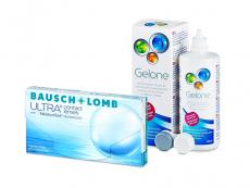Bausch + Lomb ULTRA (3 kom leća) + Gelone 360 ml