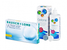 Bausch + Lomb ULTRA for Presbyopia (6 kom leća) + Gelone 360 ml