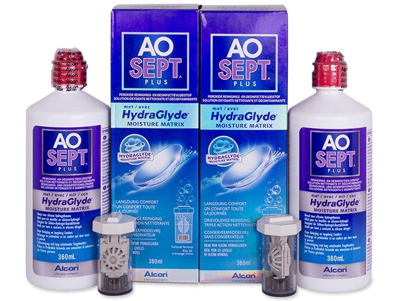Otopina AO SEPT PLUS HydraGlyde 2x360ml  - Ekonomično duplo pakiranje otopine