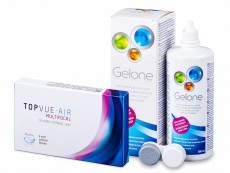 TopVue Air Multifocal (3 kom leća) + Gelone 360 ml