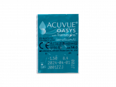 Acuvue Oasys with Transitions (6 kom leća) - Pregled blister pakiranja