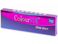 Kontaktne leće Maxvue Vision - ColourVue One Day TruBlends - s dioptrijom (10 leća)