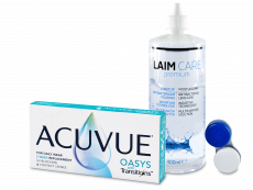 Acuvue Oasys with Transitions (6 kom leća) + Laim-Care 400 ml