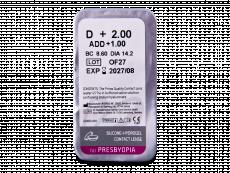 TopVue Air Multifocal (6 kom leća) - Pregled blister pakiranja