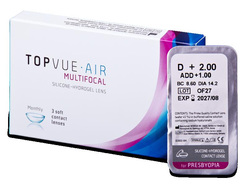 TopVue Air Multifocal (1 kom leća) - Multifokalne kontaktne leće